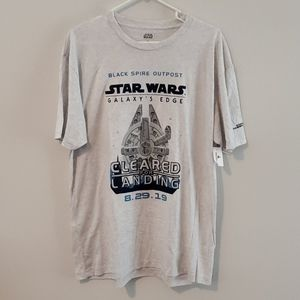 STAR WARS GALAXY'S EDGE T-SHIRT. SZ XL